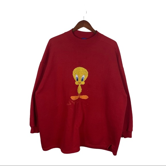 Vintage 90s tweety bird sweatshirt made in USA